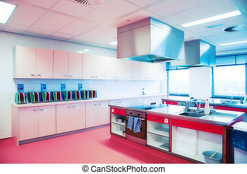 kitchen in HoReCa college