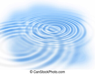 Water ripples - Abstract background with water ripples