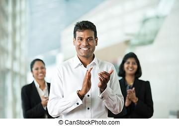 equipo, el suyo, indio, empresa / negocio, hombre