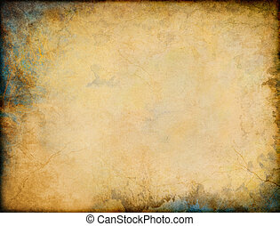 Patina Grunge Corners - A vintage grunge background with...