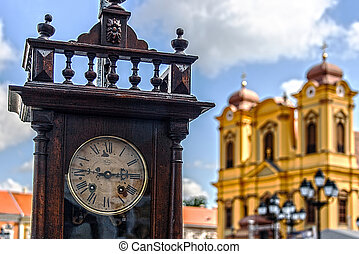 Old clock and history 2