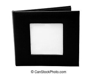 black empty cd case - empty cd holder with space for a photo...