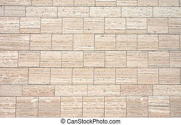 Brown granite wall - A background from a brown granite wall