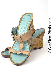 Ladies Sandals - Ladies wedge style Sandals