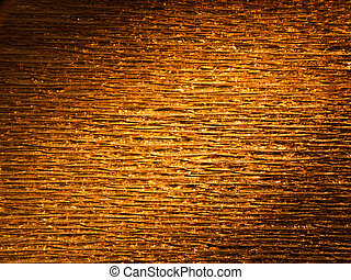 Crinkly gold background texture - light painting - Metallic...