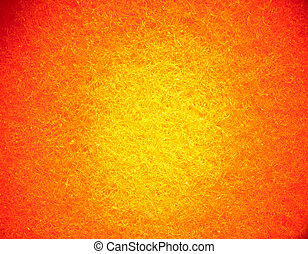 Bright orange yellow textured abstract background - Light...