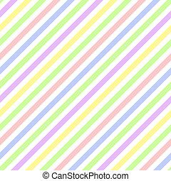 Seamless Pastel Diagonal Stripe - Pastel diagonal stripes on...