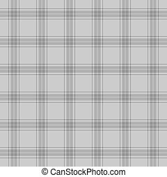 Seamless Grey Plaid - Simple plaid in shades of soft grey