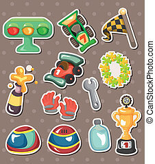 f1 racing stickers