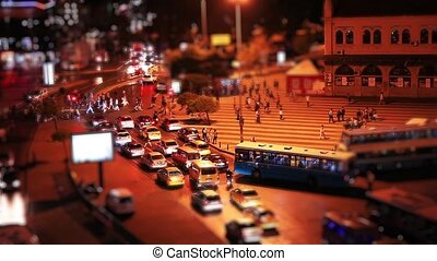 kadikoy square - miniature effect kadikoy square time lapse