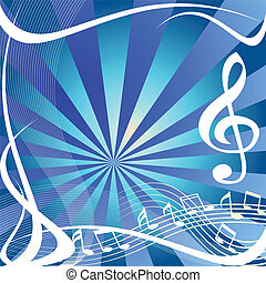 Music background - Music abstract background