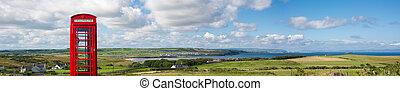 Panoramic view of Portballintrae