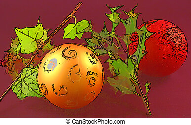 the holly and the ivy at christmas cartoon