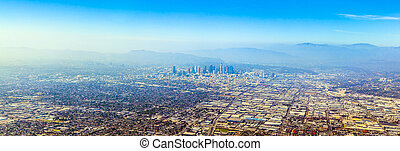 Angeles,  Los, aéreo