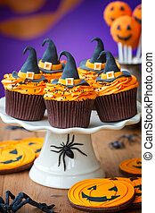 Halloween cupcakes - Cupcakes for a halloween party