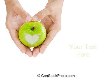 Amor, maçã