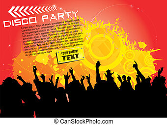 party background  - party background
