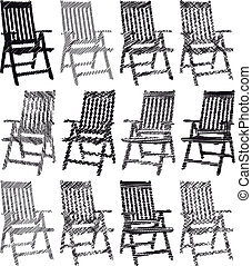 Collection of Chairs drawings