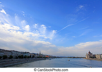View of the Budapest, Hungary