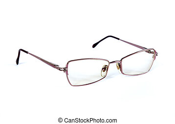 spectacles - Reading glasses on a white background