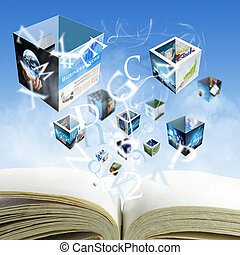 open blank book streaming business imagesquot;Elements of...