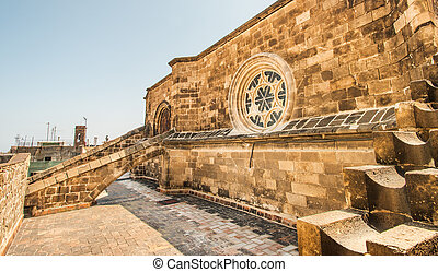 roof of Cathedral of Santa Eulalia - Roof of Cathedral of...