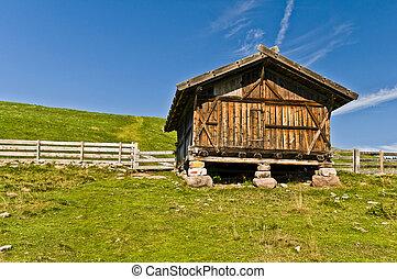 Fienile in Alto Adige sopra Avelengo