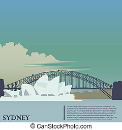 Sydney background