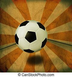 soccer football vintage background