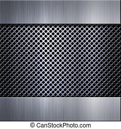 Brushed aluminum metal plate - Brushed metal aluminum...