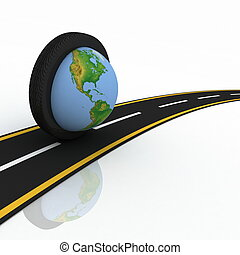 3d conception trips round the world on wheels