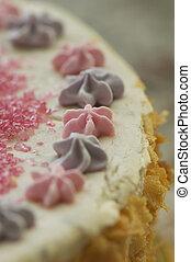 handmade filbert cake - handmande filbert cake shot in a...