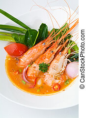 Thai Food Tom Yum seafood asia food - Thai Food Tom Yum...