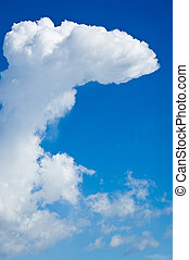 Partly Cloudy - An interesting cloud formation on a partly...