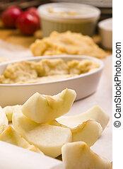 Apple pie ingredients