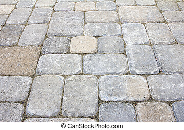 Backyard Concrete Pavers Patio - Garden Backyard Concrete...