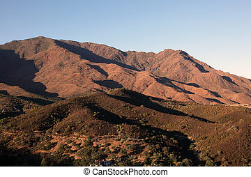 Mountains near Casares, Andalusia Spain