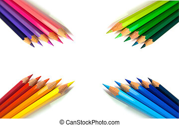 Grouped Color Pencils