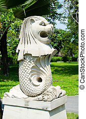 Merlion, A mascot of Singapore