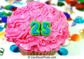 Celebration Cupcake - Number 25 - Number 25 celebration...