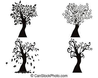black season tree
