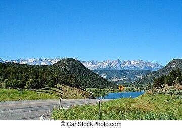 Million Dollar Highway - Northen point of the Million Dollar...