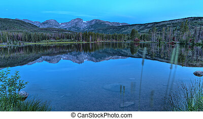 Sprague Lake Colorado - Stunning Sunrise at Sprague Lake in...