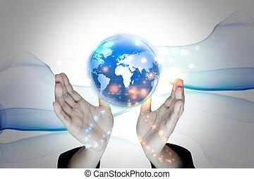 世界的である, 保有物, 手