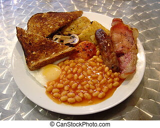 Full English Breakfast - A Full fried English Breakfast