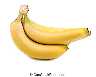 banana isolated on white background