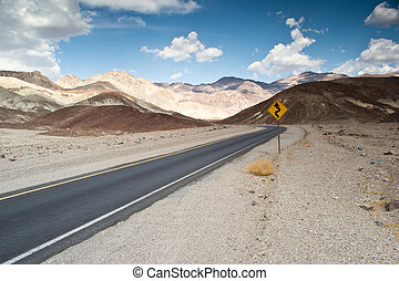 death valley route - death valley national...