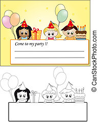 invite birthday