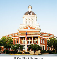 Historic Courthouse in Madison, GA - Historic Morgan County...