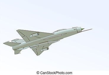 MiG-21 (Fishbed) - The Mikoyan-Gurevich MiG-21 (Fishbed) is...